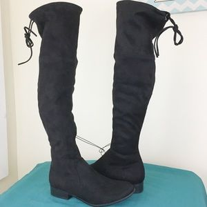 NWT A New Day Sidney Over the Knee Sock Boots